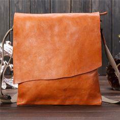 a8220d2368 Messenger Bag Shoulder Bag Genuine Leather Handmade Crossbody