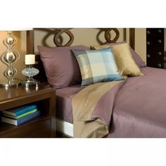 Reversible Bamboo Duvet Cover for a cozy, fall bed #cozy #fallessentials
