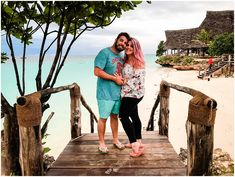 Zanzibar with Bianca + Brendan - Hooray Weddings Zanzibar Honeymoon, Make Up Your Mind, Honeymoons, Honeymoon Destinations, Married Life, Beach Day, 10 Days, Scuba Diving, Newlyweds