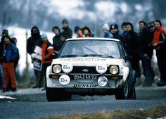 Ari Vatanen & David Richards's Ford Fiesta 9543GR92 on the Monte Carlo rally 1979.