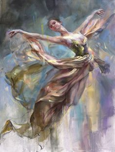 Ballet Painting, Dance Paintings, Ballet Art, Figure Painting, Painting & Drawing, Classic Paintings, Beautiful Paintings, Anna Razumovskaya, Classical Art
