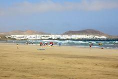 Fare #surf a #Lanzarote, nelle #Canarie.