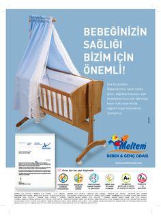 Meltem Mobilya-Bebek ve Genç Odası / Bebeğinizin Sağlığı Bizim İçin Önemli !