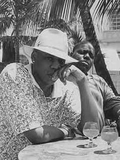 Jay-Z & Biggie Smalls...this may be the best picture ever.