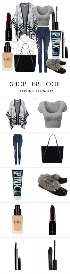 """Untitled #85"" by the-fashion-fantasy ❤ liked on Polyvore featuring LE3NO, George, Smashbox, Marc Jacobs and Forever 21"