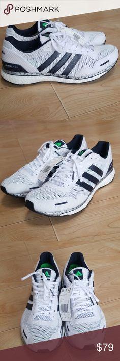Details about Adidas Adizero Adios 3 AKTIV Mens Grey Mesh Boost Shoes Size 9 Brand New