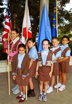 Girl Scout Brownies from the USA #Thinking Day