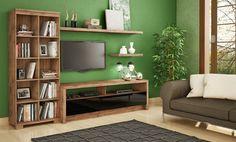 Sala de estar completa é na Panorama Móveis! Confira: https://www.panoramamoveis.com.br/conjuntos/103/sala-de-estar-completa-dalla-costa-nobre-foscopreto-brilho
