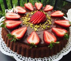 No Bake Desserts, Acai Bowl, Waffles, Cheesecake, Lunch Box, Food And Drink, Strawberry, Pie, Sweets
