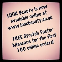 Our new website is now live!  www.lookbeauty.co.uk