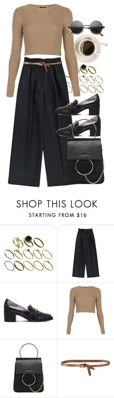 """Untitled #9785"" by nikka-phillips ❤ liked on Polyvore featuring ASOS, Dries Van Noten, Gucci, Topshop and Agnona"