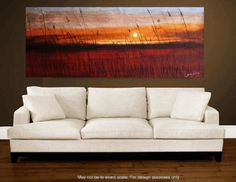 custom order 72xxl large  abstract landscape by jolinaanthony