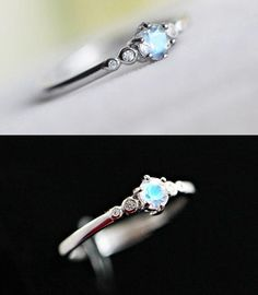 Simple stunning blue moonstone tiny promise ring for her http://www.jewelsin.com/p-simple-stunning-tiny-natural-blue-moonstone-promise-ring-in-925-silver-1513