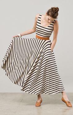 www.postcart.co >> Stripes maxi