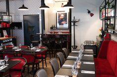 Carton rouge restaurant by Studio JANREJI | studio janreji, design, decor, interior design, décoration, home decor