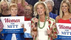 Ann Romney rallies supporters at World Golf Village Political Signs, Election Day, Sign Design, Rally, Obama, Ann, Campaign, Politics, Golf