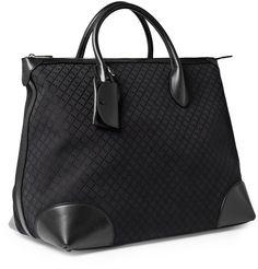 Gucci Men Leather Tote Bag