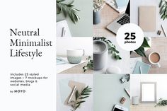 Neutral Minimalist Lifestyle Photos by Moyo Studio on @creativemarket