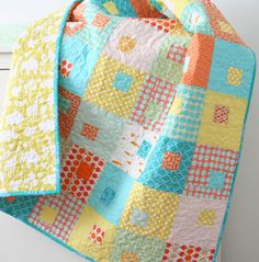 Juice Boxes quilt pattern