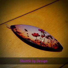 Flowering sunset @shuttlebydesign #tattingshuttle #tatting #челнокифриволите #кружевоплетение #shuttlebydesign
