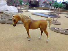 Breyer G1 Stablemate Arabian Stallion To Flaxen Chestnut Custom Model Horse