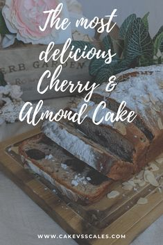 Delicious Cherry Cherry And Almond Cake, Almond Cakes, Russian Chocolate, Pork Salad, Tart Taste, Strawberry Tart, Sweet Potato Pancakes, Vanilla Paste