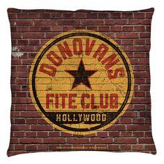 Ray Donovan Fite Club Throw Pillow
