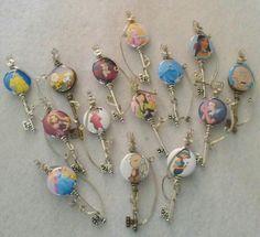 Button key pendants