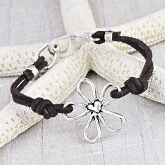 Leather Blossom Bracelet  #bracelet #jewelry #cowgirljewelry #bohojewelry #bohemianjewelry #gypsyjewelry #bohostyle #cowgirlstyle #westernstyle #gypsystyle #bohochic  http://www.islandcowgirl.com/
