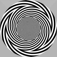 optical-illusion-spiral Look at the picture for seconds. However, make sure not to look at it for more than one minute! Then look at your palm or at the objects around you. Don't worry, it will last only for a few seconds❤ Illusion Kunst, Illusion Gif, Illusion Pictures, Op Art, Cool Optical Illusions, Funny Illusions, Optical Illusion Tattoo, Fractal Art, Glitch