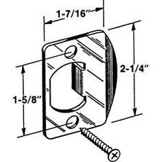 165 best home door hardware locks images home hardware door Home Security Door Bars kwikset lockset door strike plate in antique brass by kwikset 2 49 lockset strike plate antique brass in a 2 pack