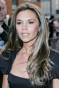 Victoria Beckham hair 2005 - Victoria Beckham hair color