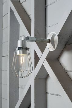 Outdoor Wall Light - Exterior Wire Cage Wall Sconce Lamp | Industrial Light Electric, Industrial Modern Lighting, Vintage Industrial Style Lights with a Modern Design