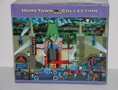 Hometown Collection Grumman's Chinese Theatre Hollywood 1000 pcs MEGA 2007 #MEGABrands