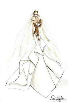 Beautiful Style: So stellen sich Modedesigner Lady Gaga´s Brautklei...