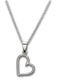 * Made in 14 karat white gold * Measures approximately 2 x x * Hand made, in-house (each one will be a little bit different/unique as they are hand made on a per order basis) * Comes on an cable chain * Also available in rose or yellow gold upon request. Heart Jewelry, Heart Pendant Necklace, 14 Karat Gold, Gold Chains, White Gold, Wire, Rose Gold, Necklaces, Jewels