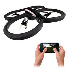 With its four propellers, an updated HD camera and a host of updated features, this next generation quadricopter is controlled entirely from your smartphone!
