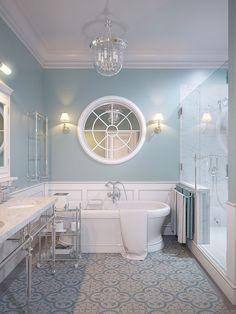 Не для кого не секрет, что сочетание голубого и белого отлично подходит для ванной комнаты. Мы решили в очередной раз в этом убедиться и продемонстрировать Вам пример интерьера в этом сочетании. Проголосовать 0 рейтинг За Против Всего голосов: 0 За: 0 За в процентах: 0.000000% Против: 0 Против в процентах: 0.000000% Далее