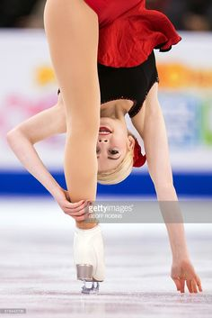 Gracie Gold of the United States performs her short program in the Ladies competition at the ISU World Figure Skating Championships at TD Garden in Boston, Massachusetts, March 31, 2016. / AFP / Geoff Robins