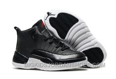 "http://www.bigkidsjordanshoes.com/new-2017-kids-air-jordan-12-black-nylon-basketball-shoes.html HOT 2017 KIDS AIR JORDAN 12 ""BLACK NYLON"" BASKETBALL SHOES Only $85.00 , Free Shipping!"