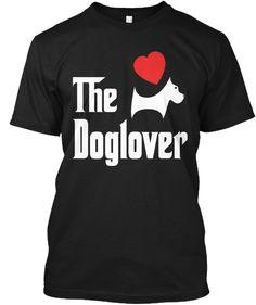 Funny Dog Lover Bad Shirts Black T-Shirt Front