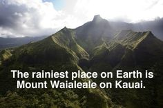 (some of this list is wrong, but some are right, so before you take these as fact, remember, it's Buzzfeed :-P ) #Kauai #Hawaii