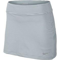 Wold Grey / White Nike Ladies Bogalicious Print Pull-On Golf Skort #lorisgolfshoppe