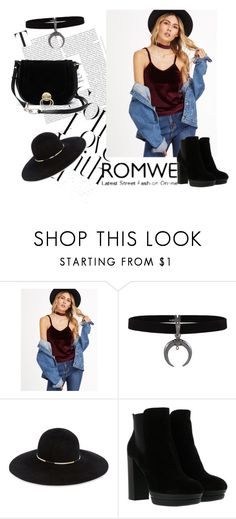 """Romwe contest!"" by merimaa997 ❤ liked on Polyvore featuring Eugenia Kim, Hogan and Diane Von Furstenberg"