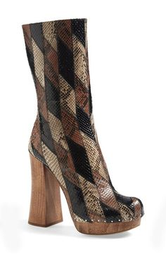 Prada+Genuine+Python+Boot+(Women)+available+at+#Nordstrom