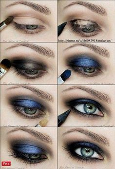 Amazing Makeup Tutorials for Blue Eyes