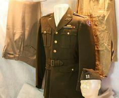 WWII US 3rd Army Officer's Uniform http://www.commodityocean.com/ww-ii/ww-ii-german-uniforms.html