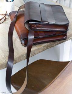 손잡이와 서류 가방이나 노트북 가방