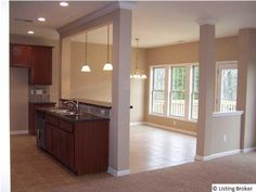 Kitchen Island Open To Living Room the carlisle floor planball homes offers an open kitchen