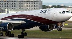 ARIK AIR SUSPENDS FLIGHT